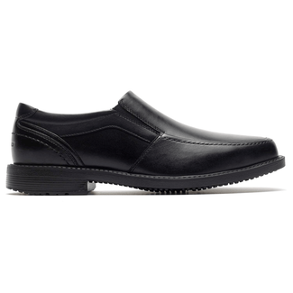Rockport Men's Black Style Leader 2 Moc Toe Slipon